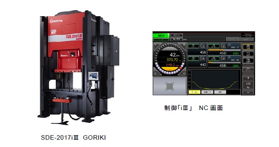 アマダ プレス システム デジタル電動サーボプレス「SDE-2017iⅢ